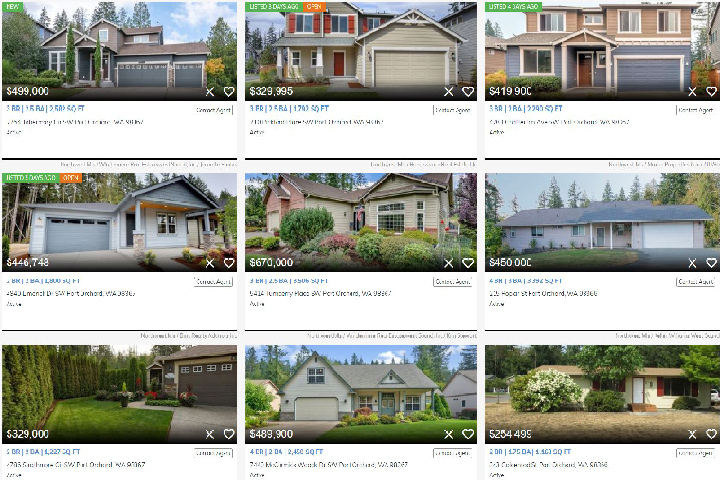 Port Orchard Listings